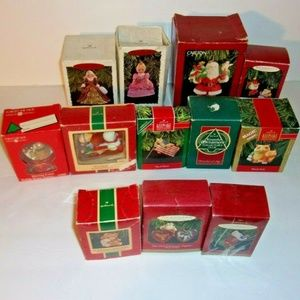 Other - Lot of 12 Christmas ornaments Hallmark etc